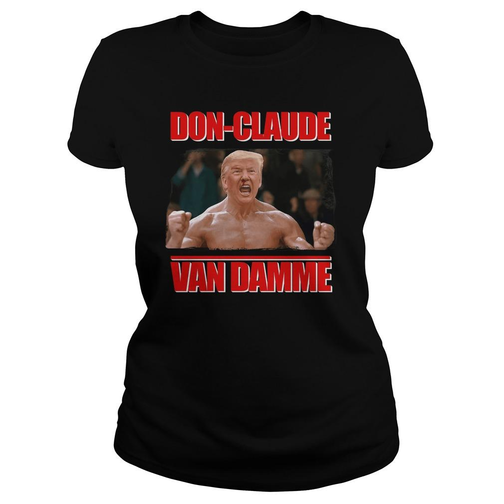 Trump Don Claude Van Damme Longsleeve