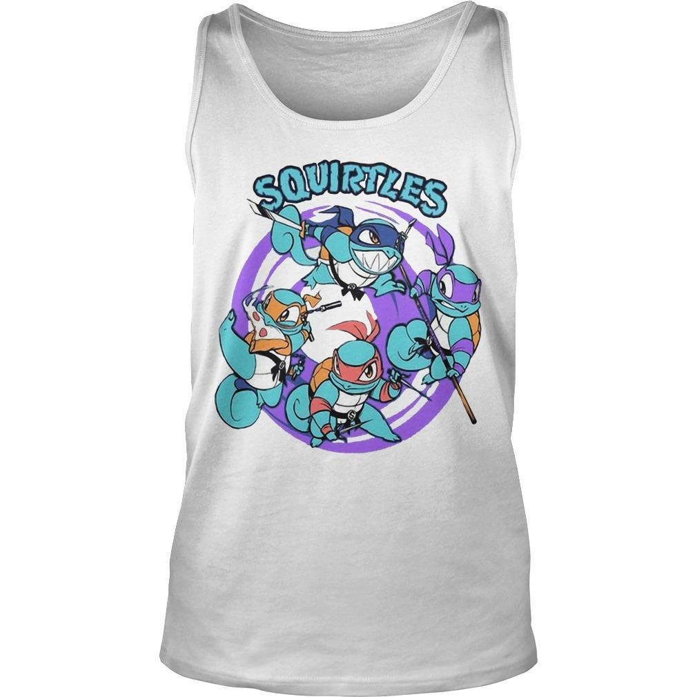 Turtle Squirtles Tank Top
