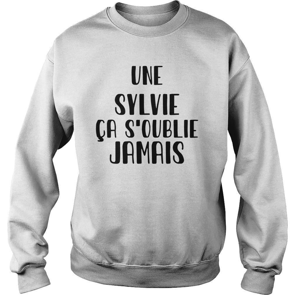 Une Sylvie Ça S'oublie Jamais Sweater