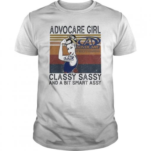 Vintage Advocare Girl Classy Sassy And A Bit Smart Assy Shirt