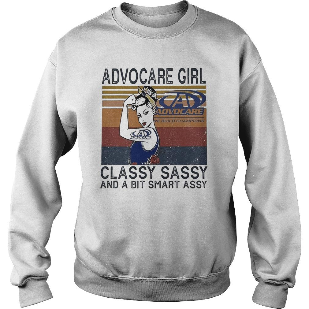 Vintage Advocare Girl Classy Sassy And A Bit Smart Assy Sweater
