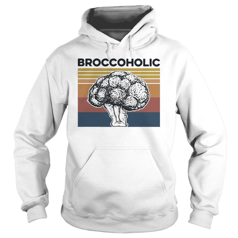 Vintage Broccoholic Hoodie