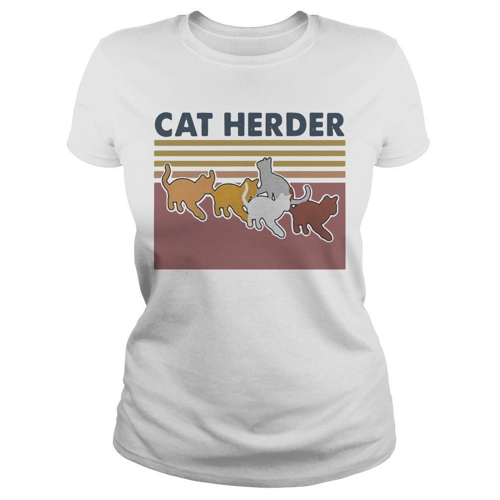 Vintage Cat Herder Longsleeve