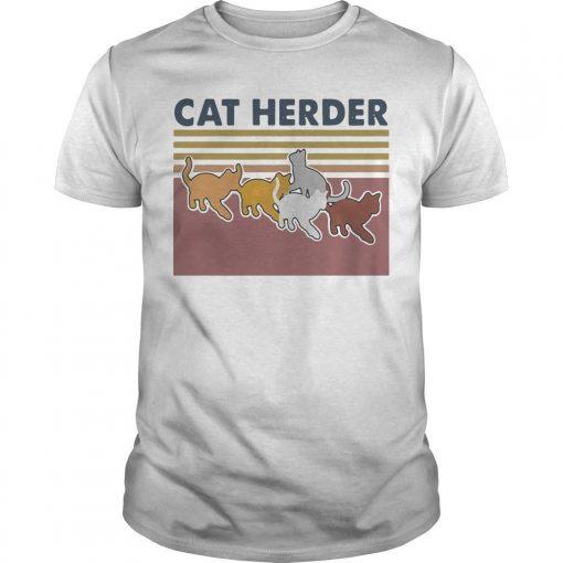 Vintage Cat Herder Shirt