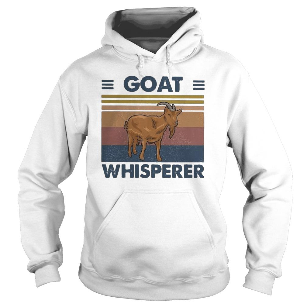 Vintage Goat Whisperer Hoodie
