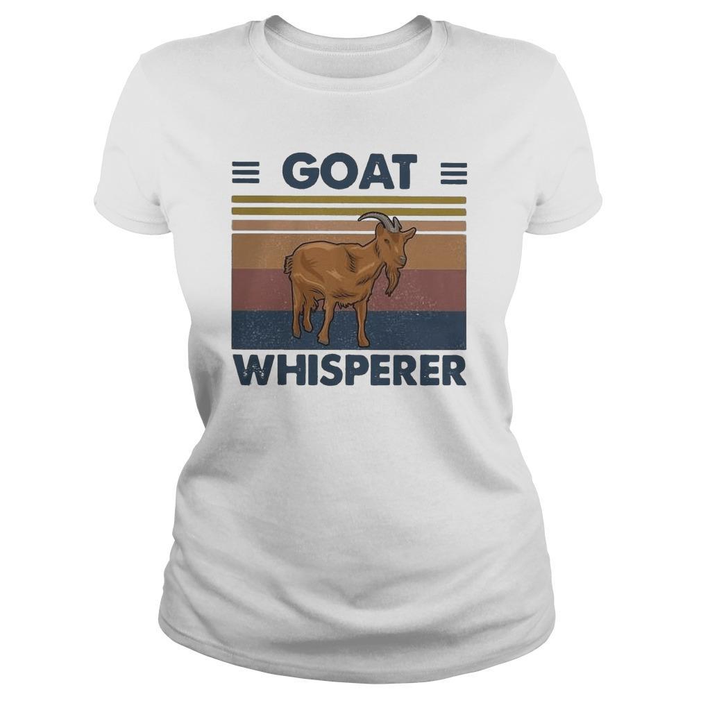 Vintage Goat Whisperer Longsleeve