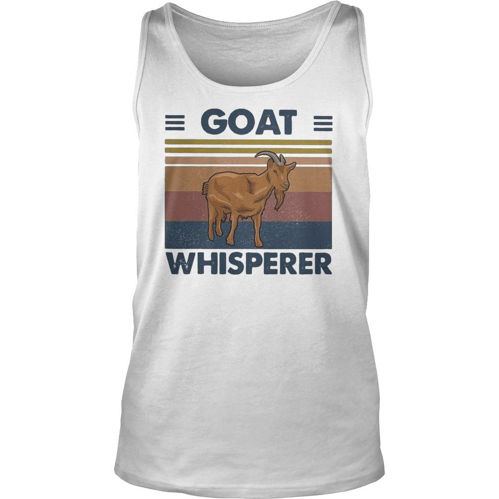 Vintage Goat Whisperer Tank Top