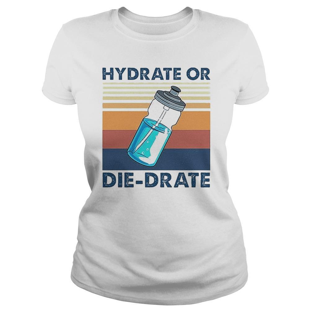 Vintage Hydrate Or Die Drate Longsleeve