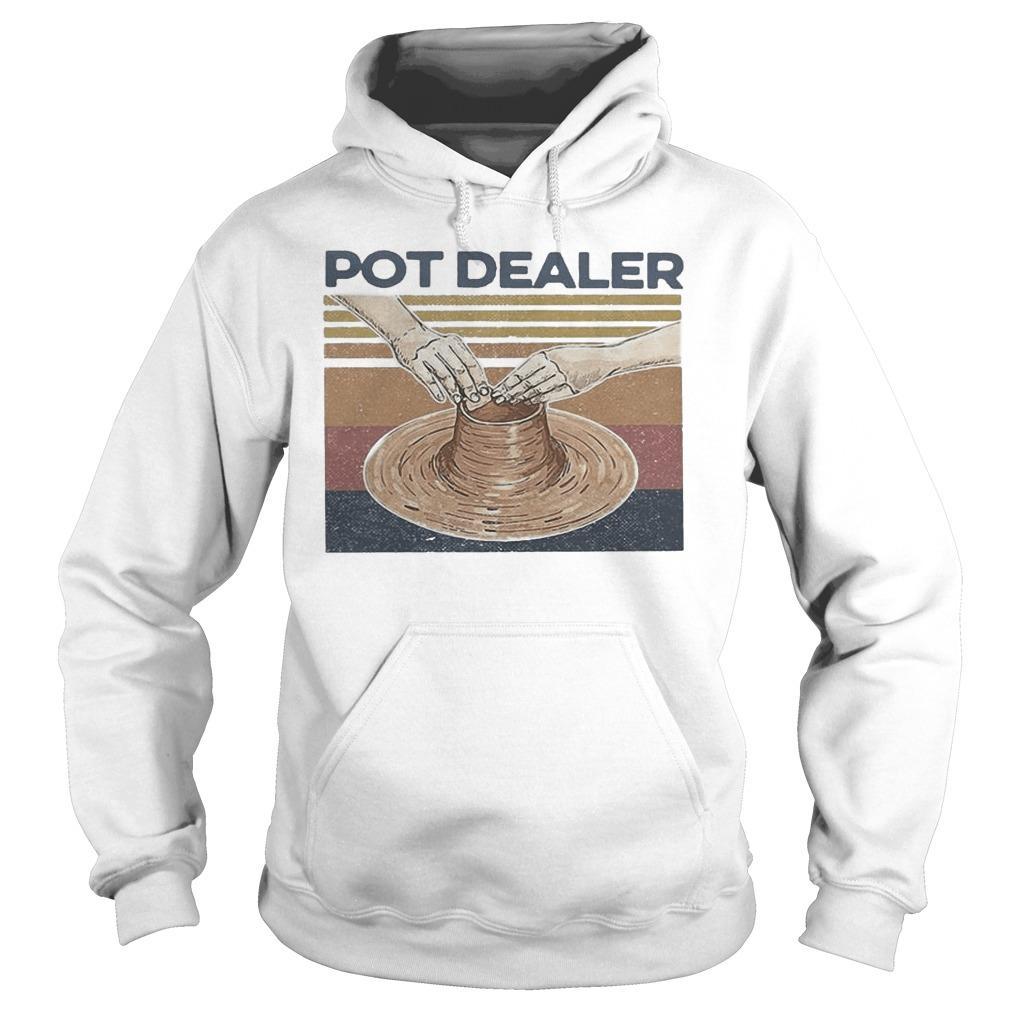 Vintage Pottery Pot Dealer Hoodie