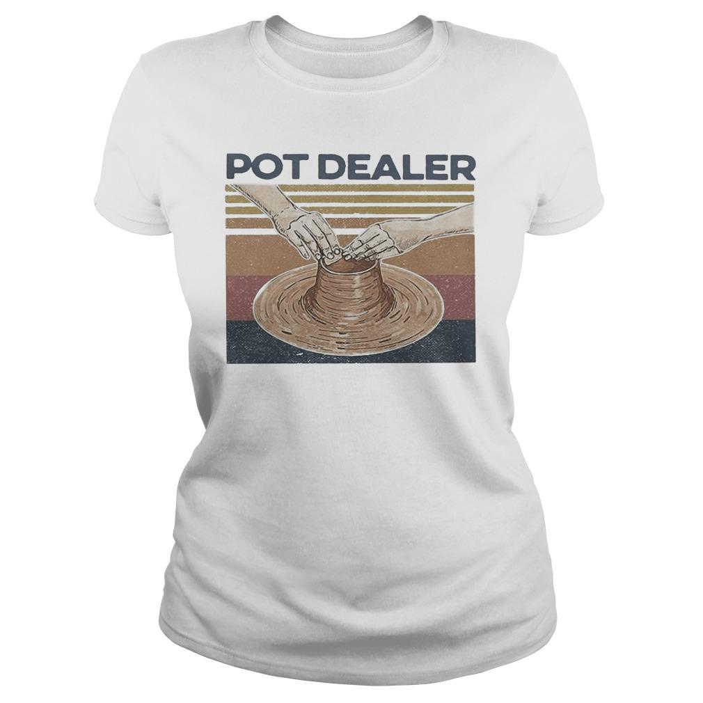 Vintage Pottery Pot Dealer Longsleeve