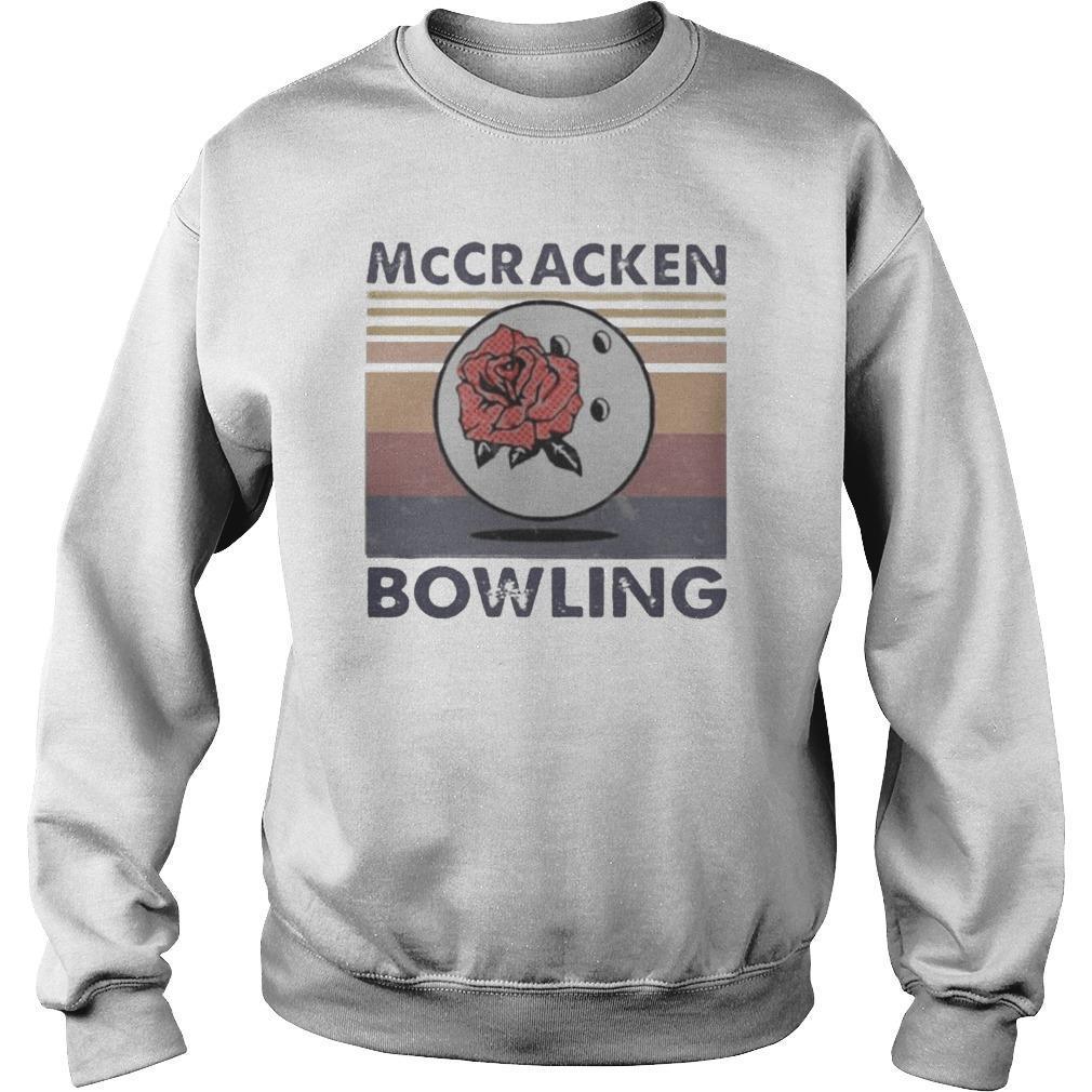 Vintage Rose Mccracken Bowling Sweater
