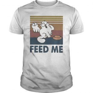 Vintage Simon's Cat Feed Me Shirt