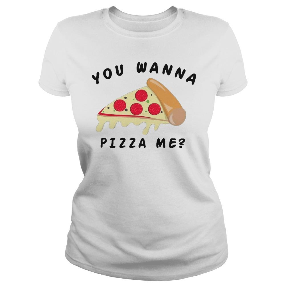 Wanna Pizza Me Walmart Longsleeve