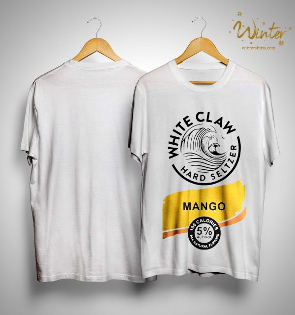 White Claw Hard Seltzer Mango Shirt