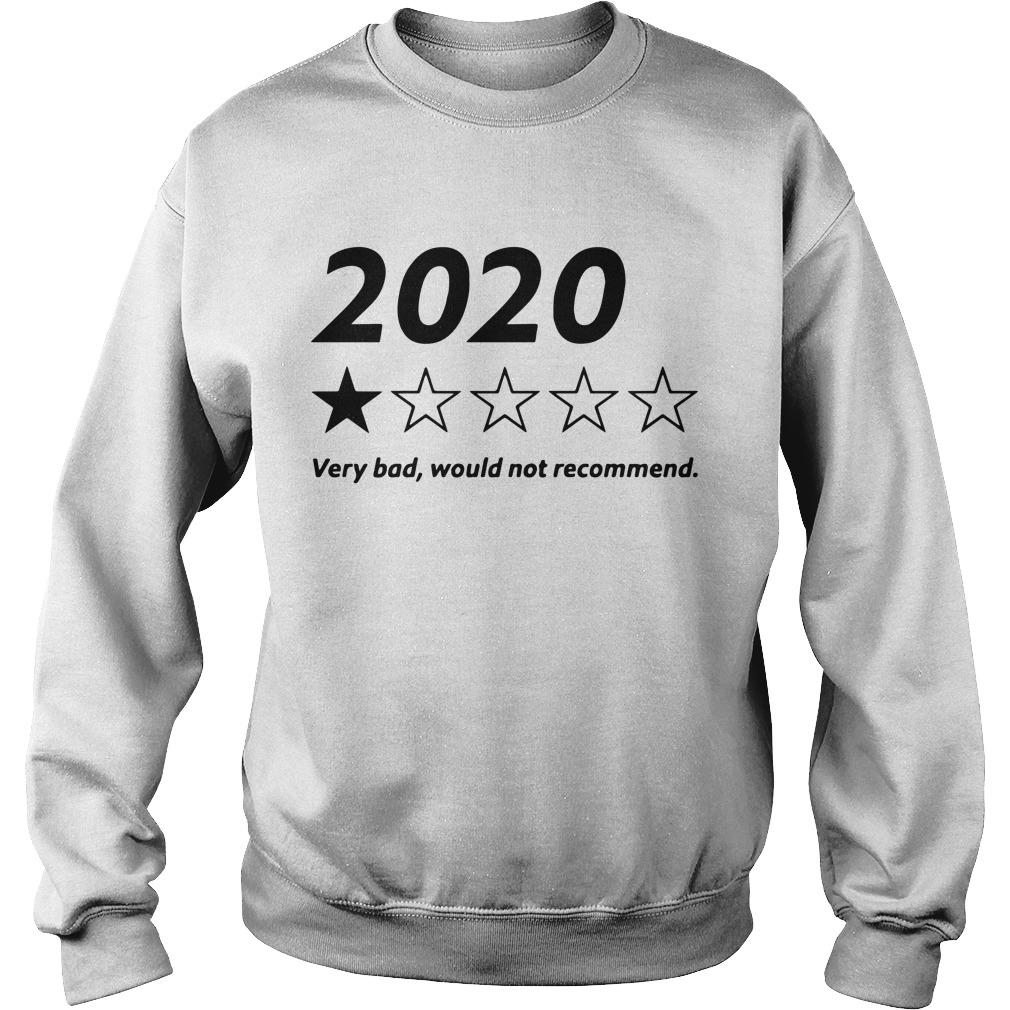 2020 Very Bad Would Not Recommend Sweater