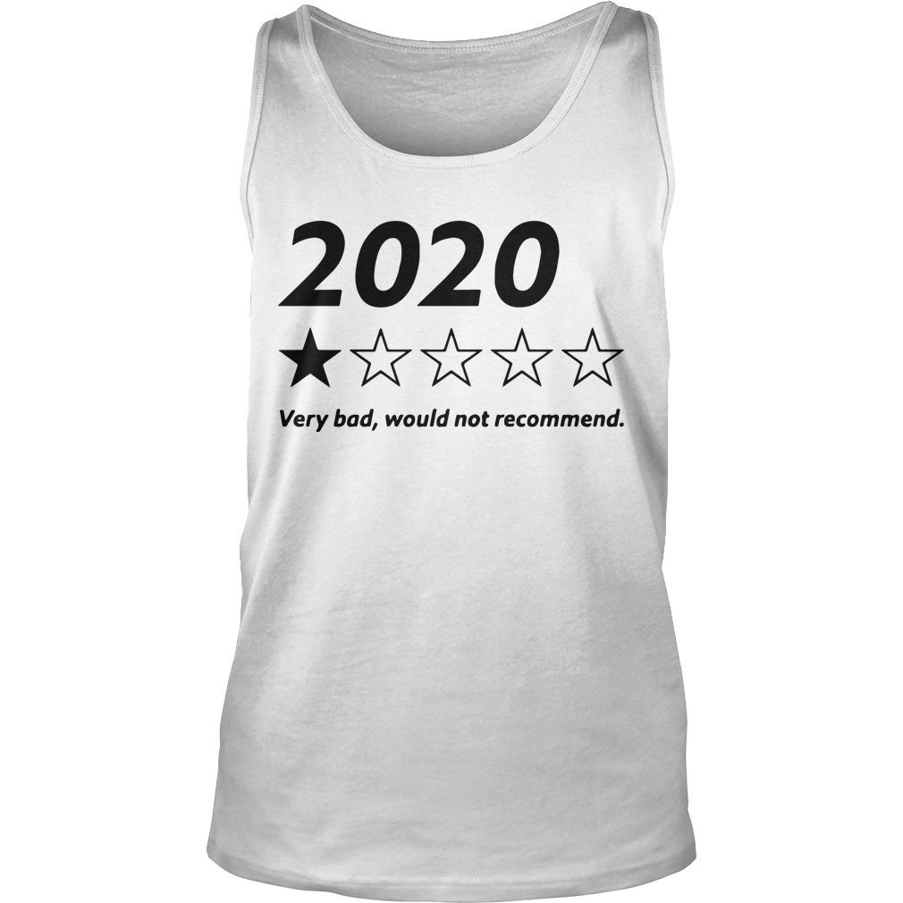 2020 Very Bad Would Not Recommend Tank Top