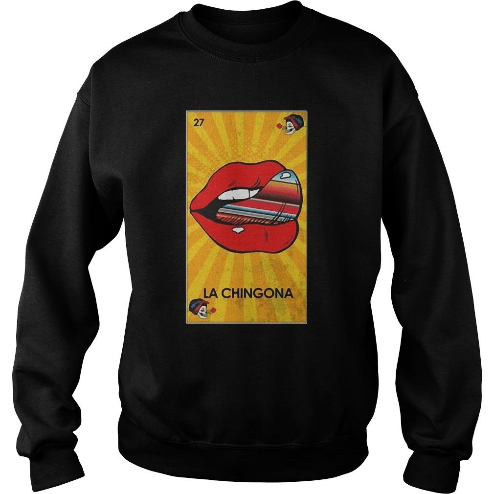 27 Lip La Chingona Sweater