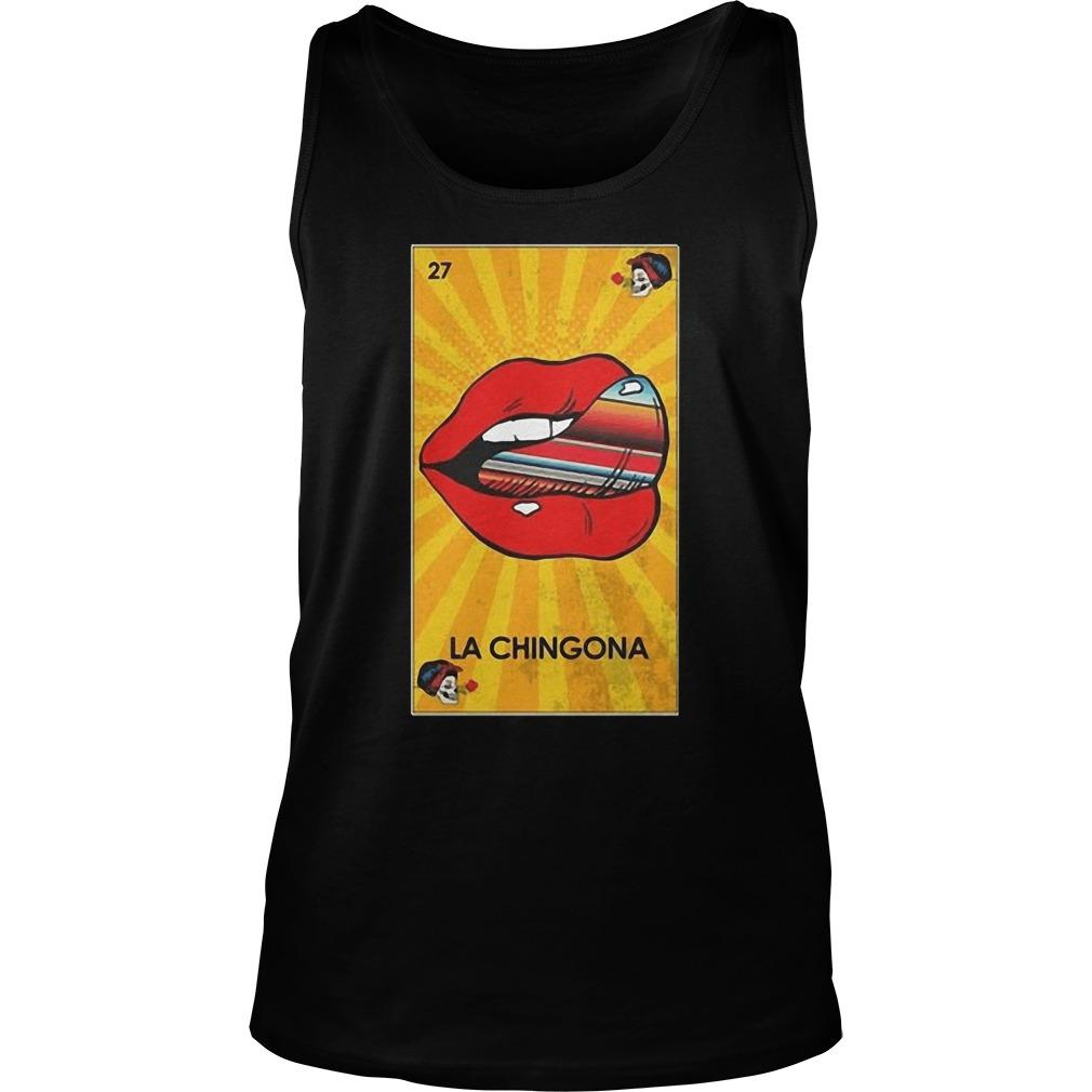 27 Lip La Chingona Tank Top