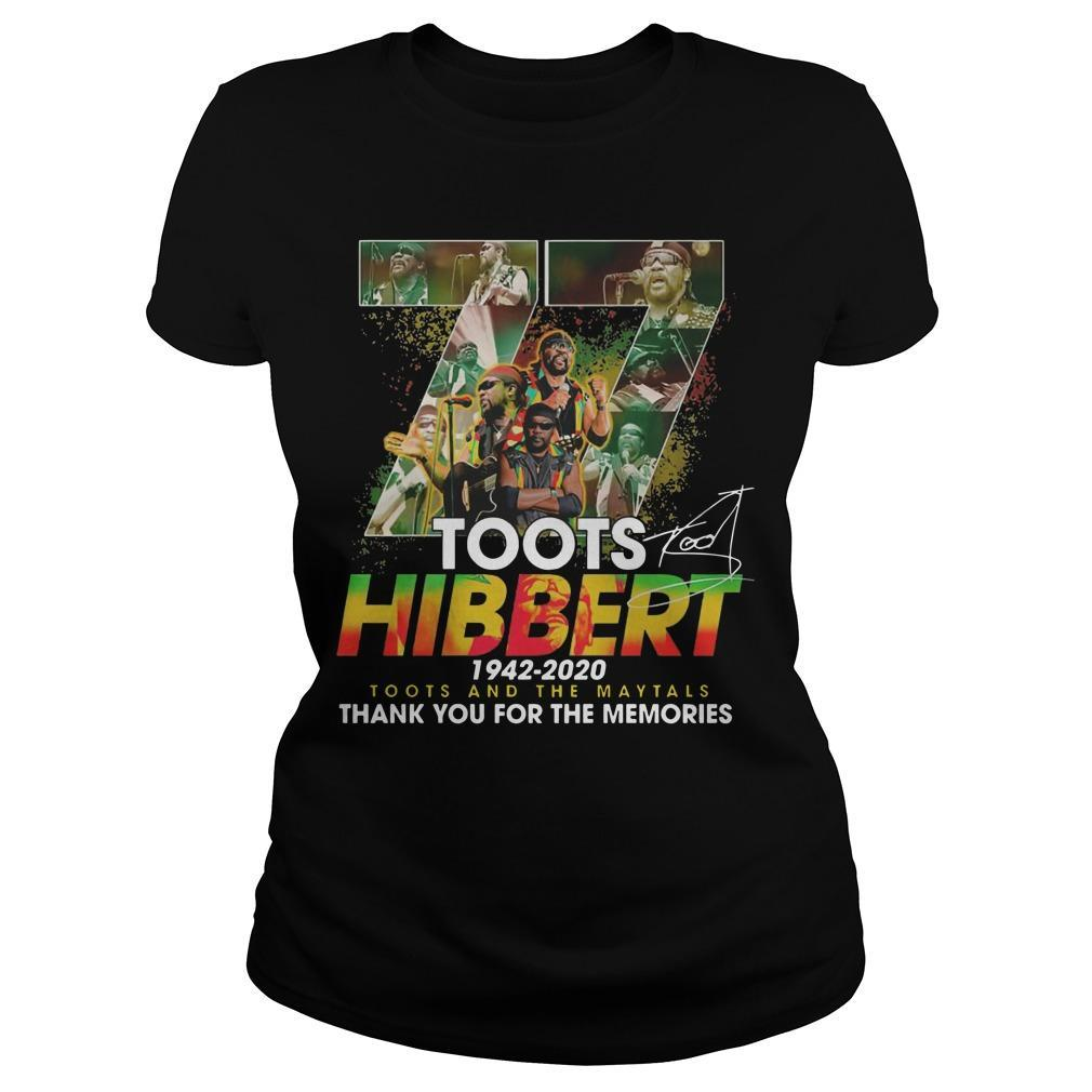 77 Toots Hibbert 1942 2020 Toots And The Maytals Longsleeve