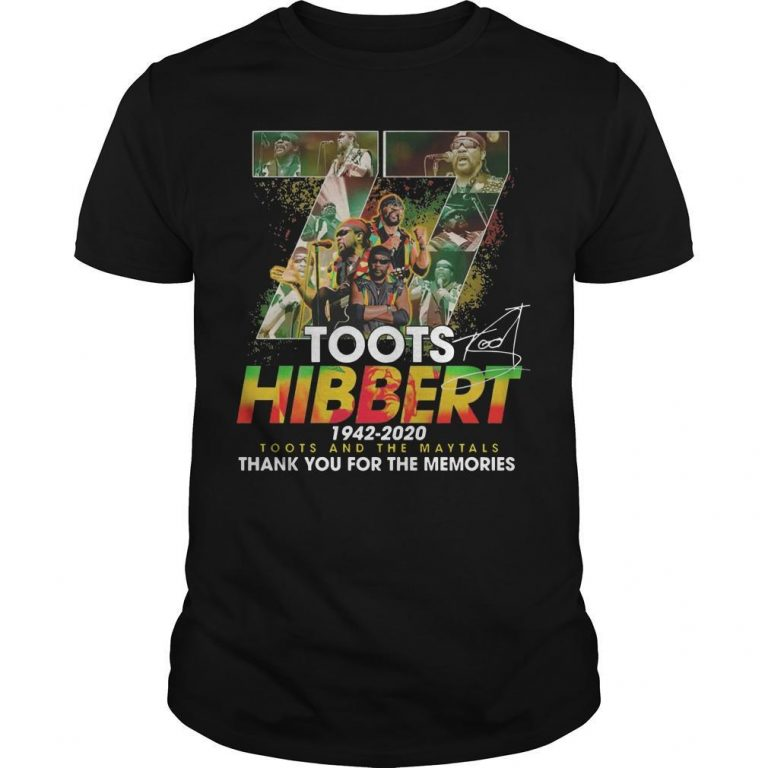 77 Toots Hibbert 1942 2020 Toots And The Maytals Shirt