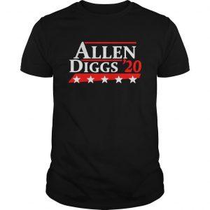 Allen Diggs 20 Shirt