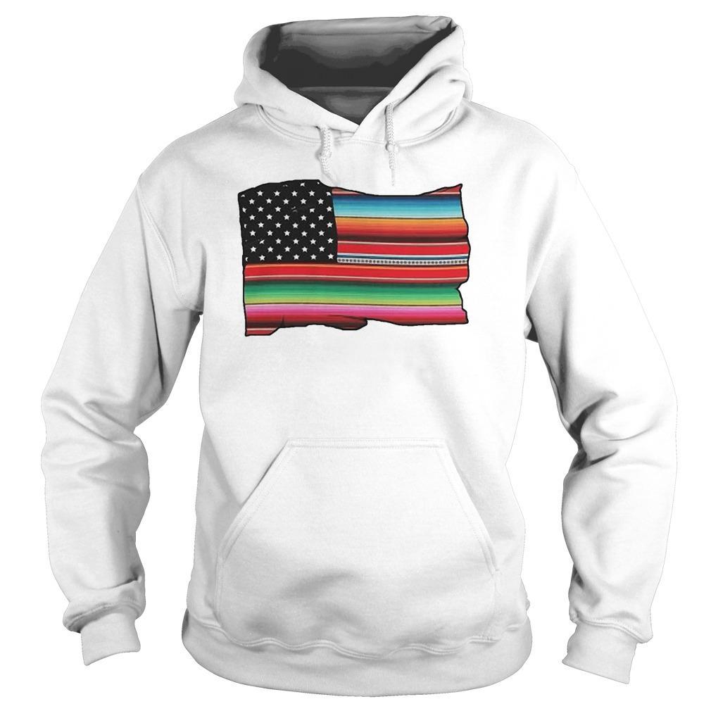 American Flag Cultura Pride Hoodie