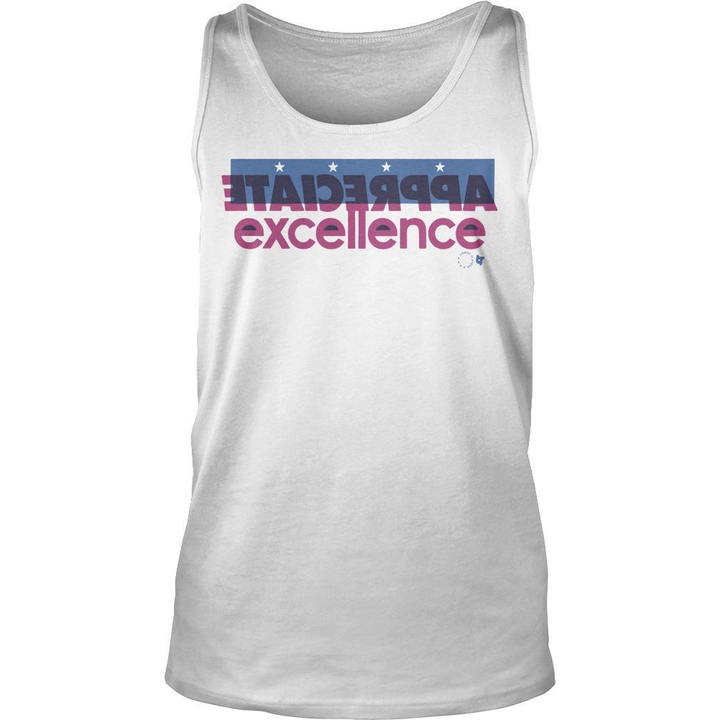 Appreciate Excellence Tank Top