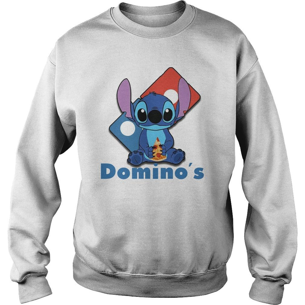 Baby Stitch Hugging Domino's Sweater