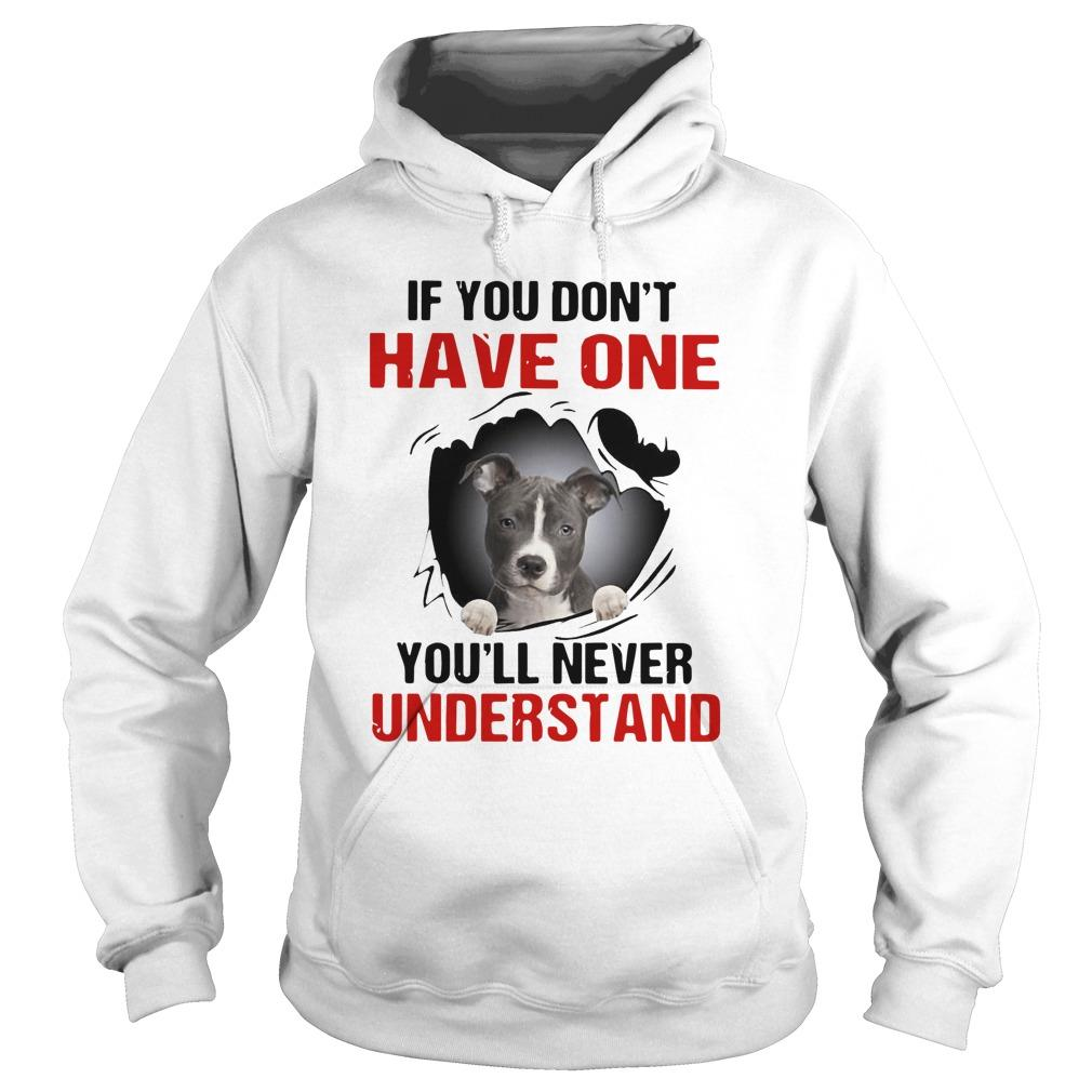 Basset Torn If You Don't Have One You'll Never Understand Hoodie