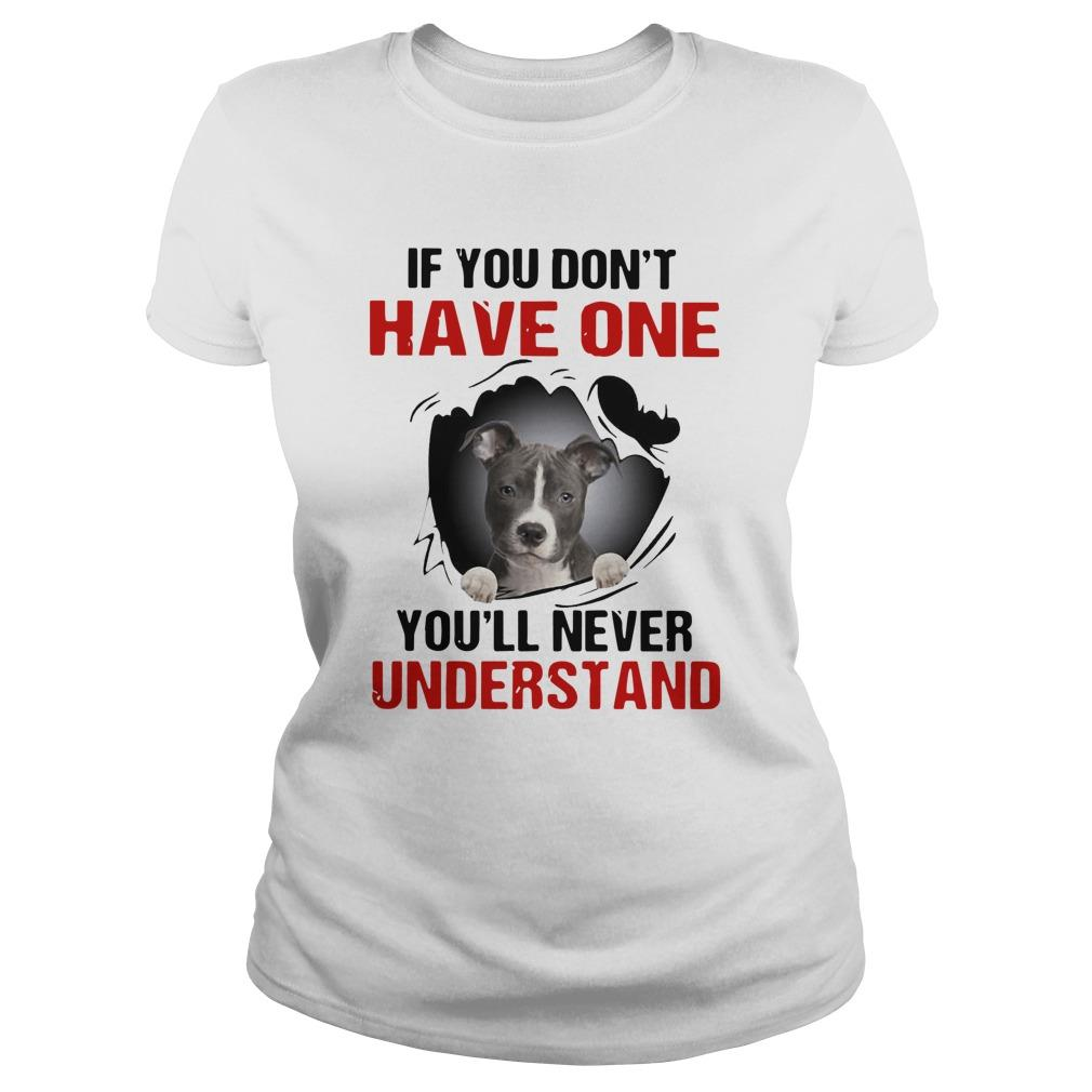 Basset Torn If You Don't Have One You'll Never Understand Tank Top