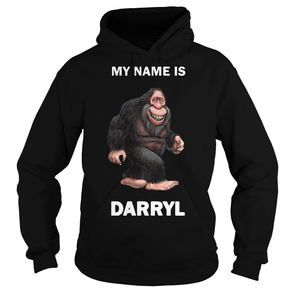 Bigfoot My Name Is Darryl Hoodie
