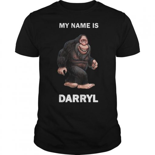 Bigfoot My Name Is Darryl Shirt