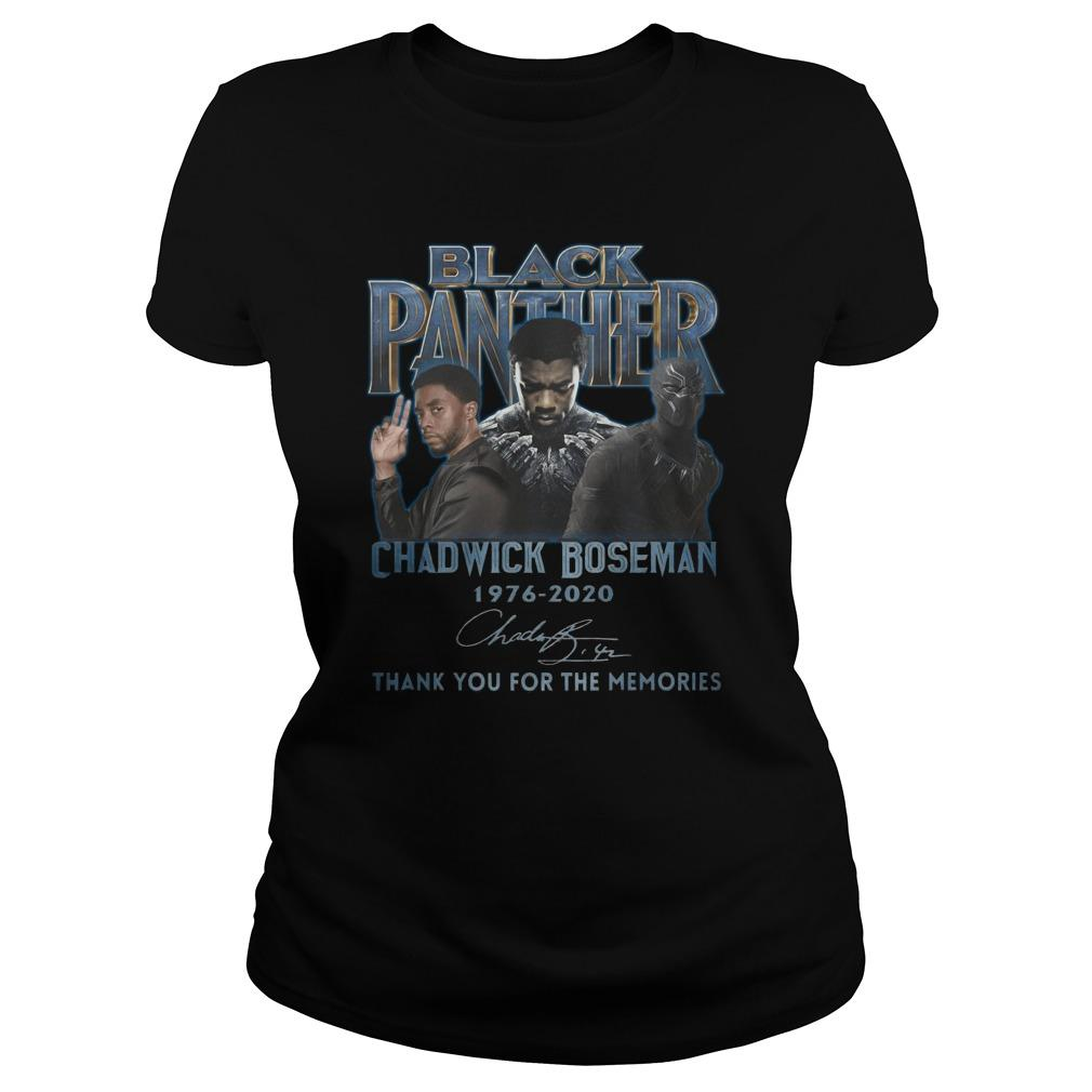 Black Panther Chadwick Boseman Thank You For The Memories Longsleeve