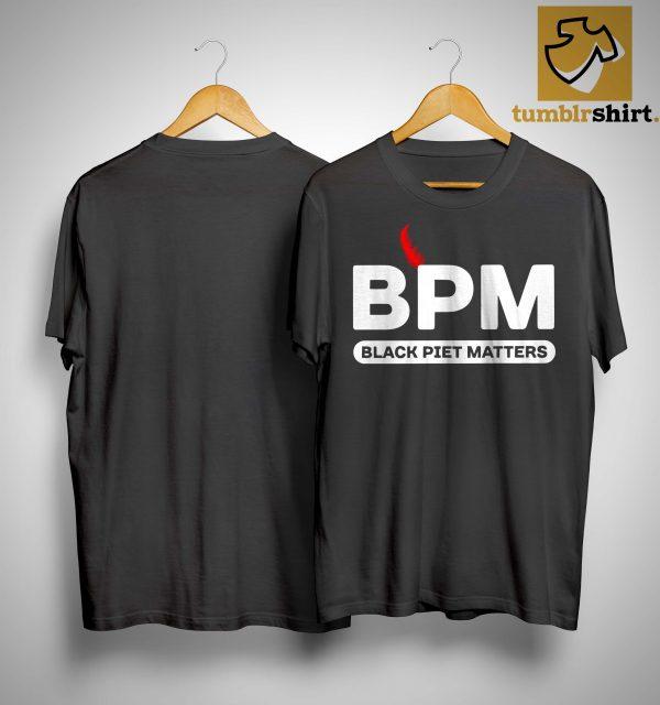 Bpm Black Piet Matters Shirt