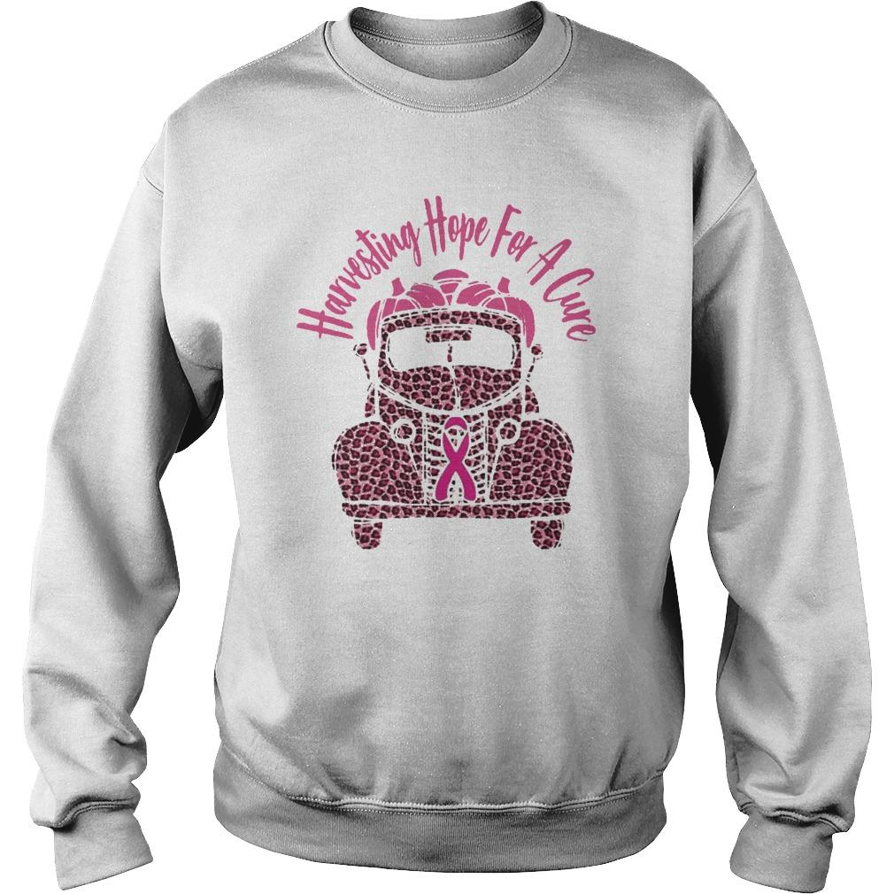 Breast Cancer Awareness Harvesting Hope For A Cure Sweater
