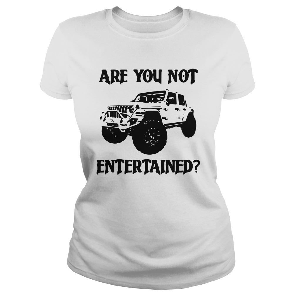 Car Are You Not Entertained Sweater