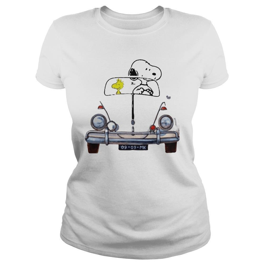 Car Snoopy And Woodstock Car 176 Vw Beetle 9 9 Mk Sweater