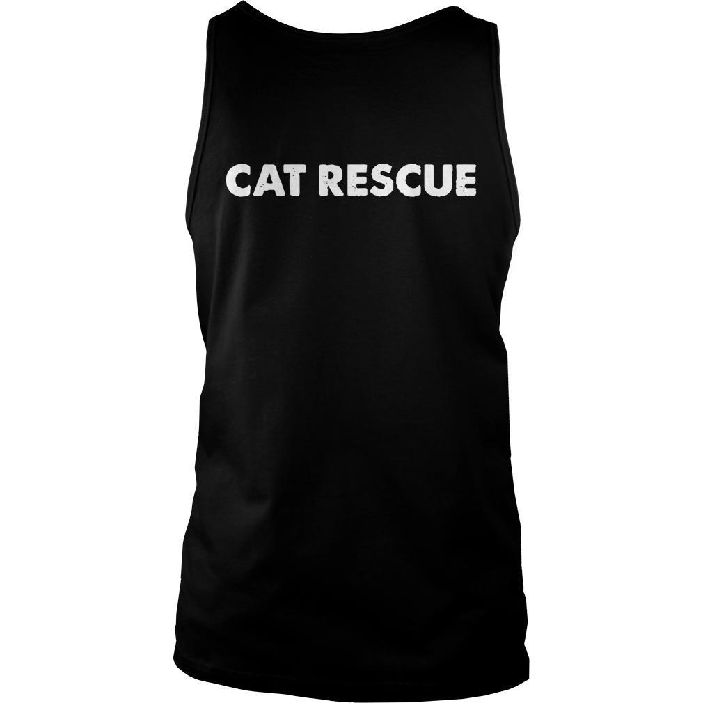 Cat Man Chris Cat Rescue Tank Top