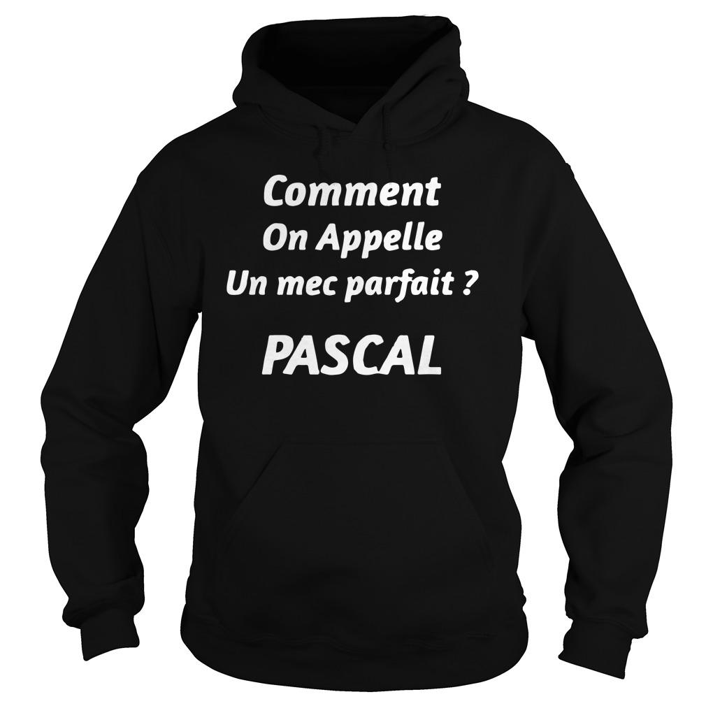 Comment On Appelle Un Mec Parfait Pascal Hoodie
