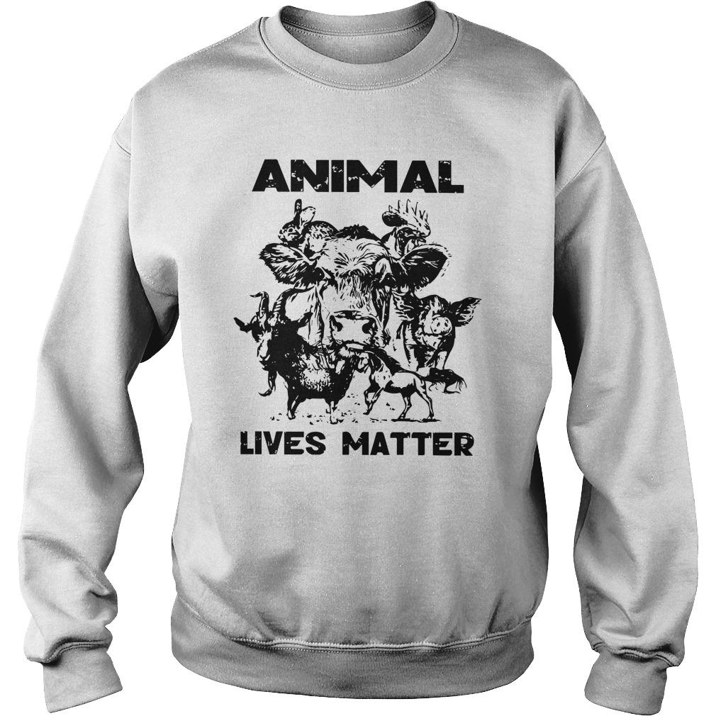 Cow Goat Horse Animal Lives Matter Sweater