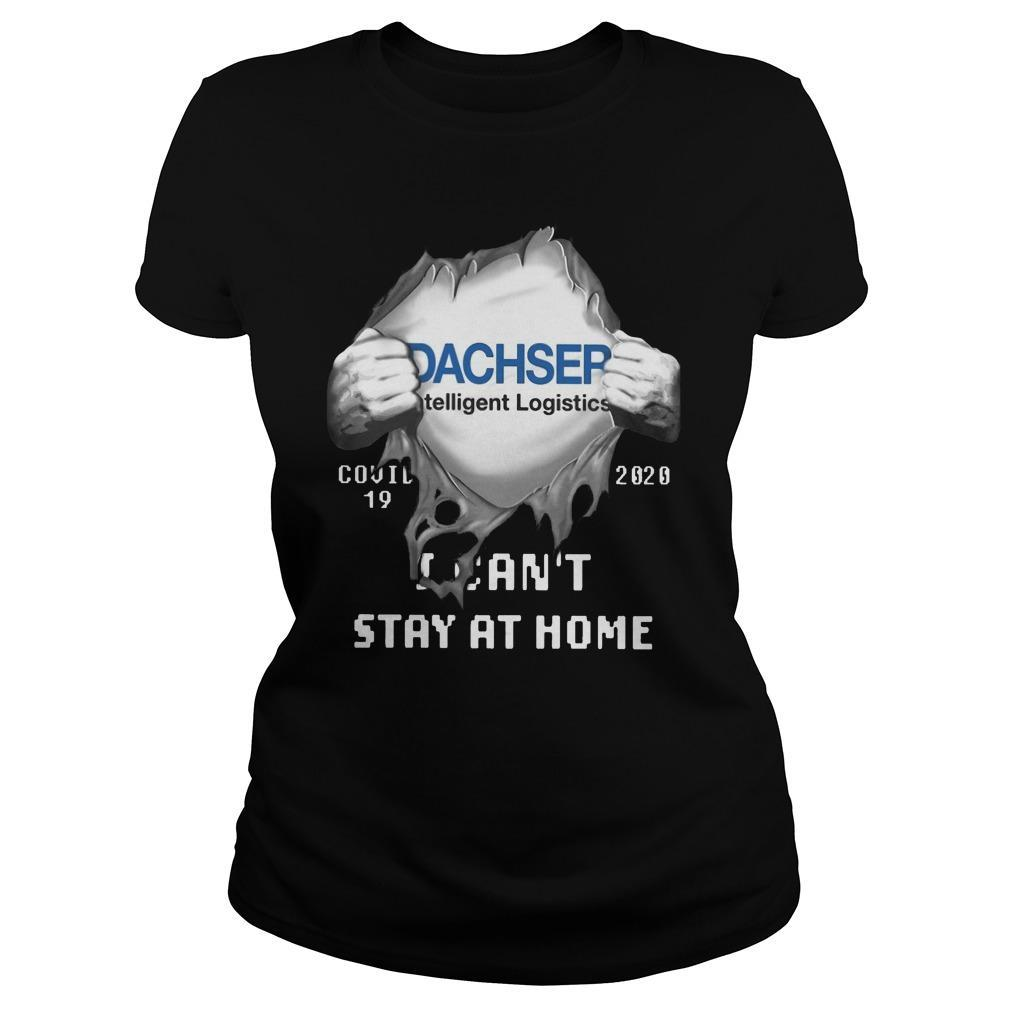 Dachser Intelligent Logistics Inside Me Covid 19 2020 I Can't Stay At Home Longsleeve