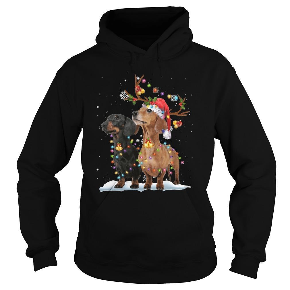 Dachshund Christmas Hoodie