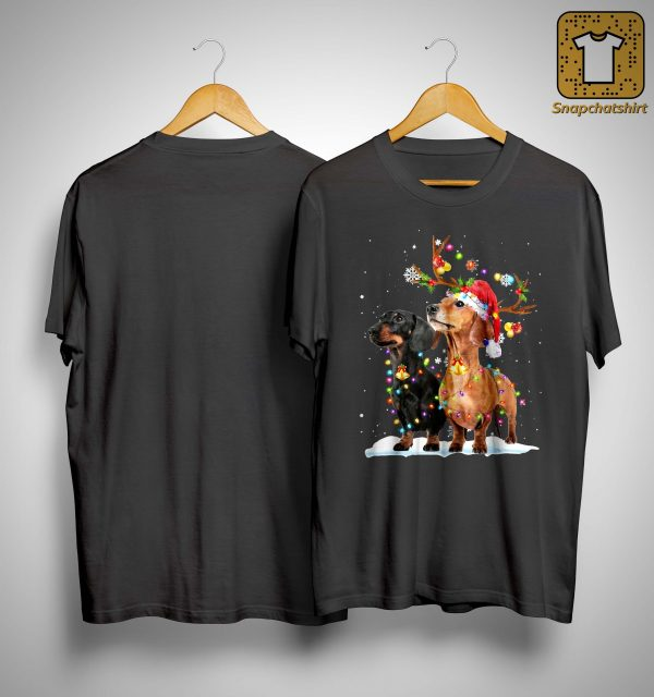 Dachshund Christmas Shirt
