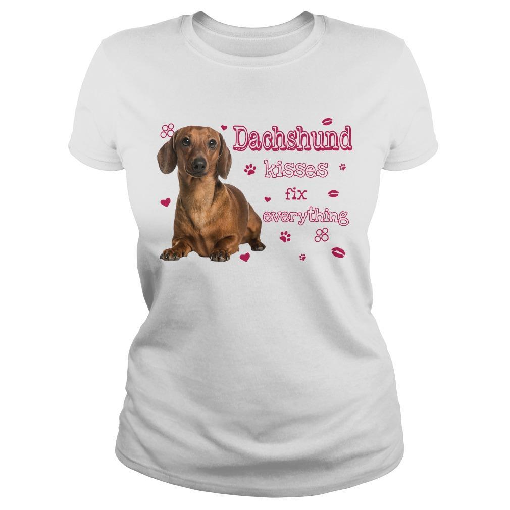 Dachshund Kisses Fix Everything Longsleeve