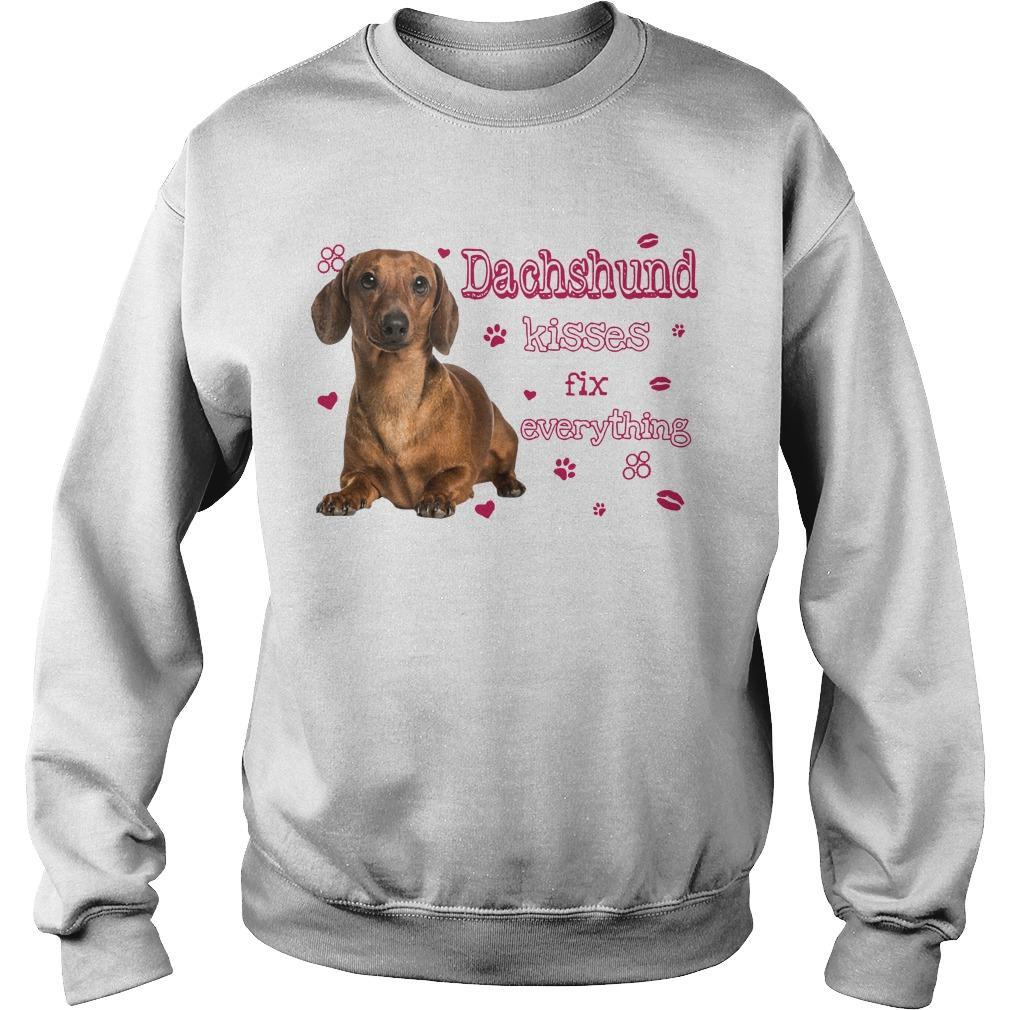 Dachshund Kisses Fix Everything Sweater