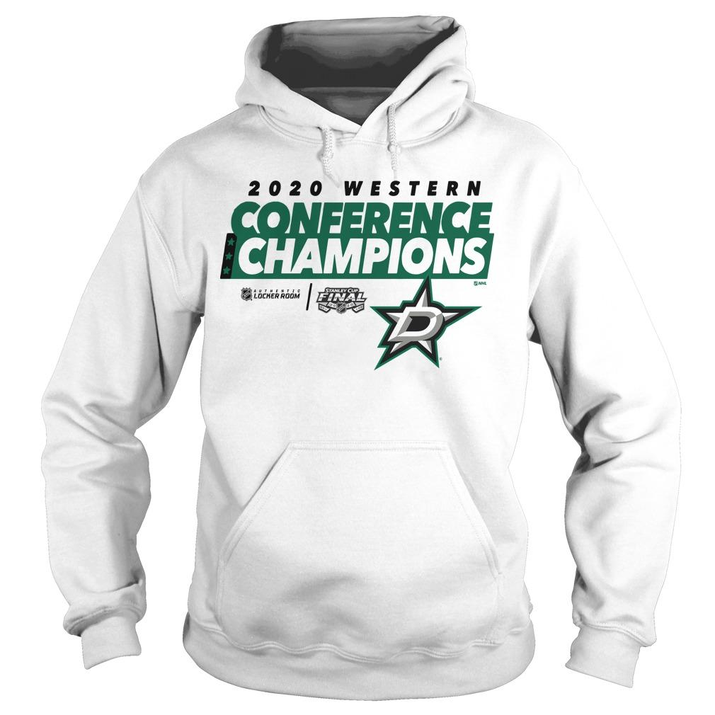 Dallas Stars 2020 Western Conference Champions Hoodie