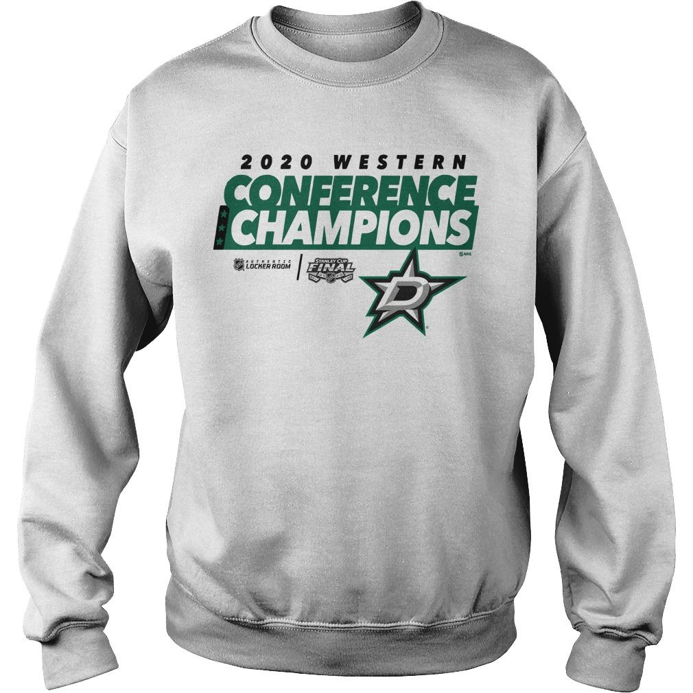 Dallas Stars 2020 Western Conference Champions Sweater