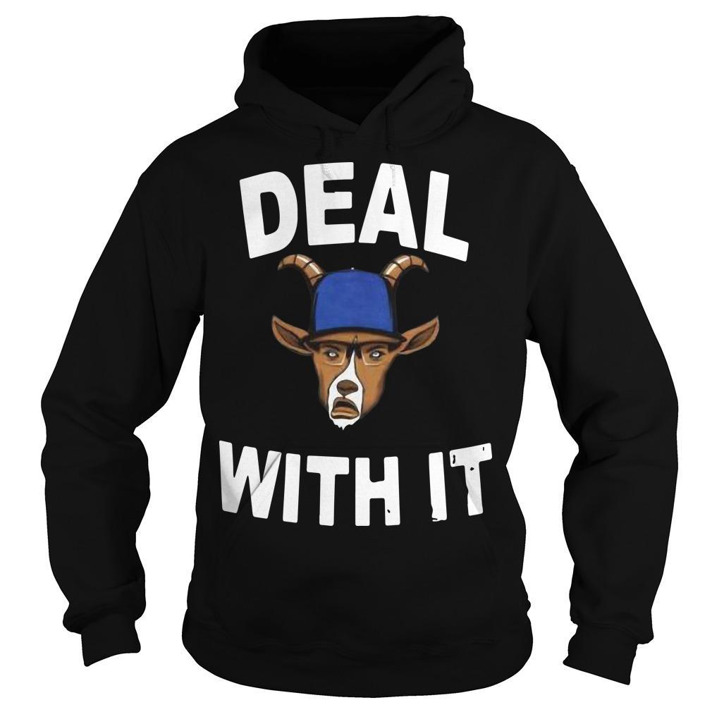 Deal With It Free Joe Kelly T Hoodie