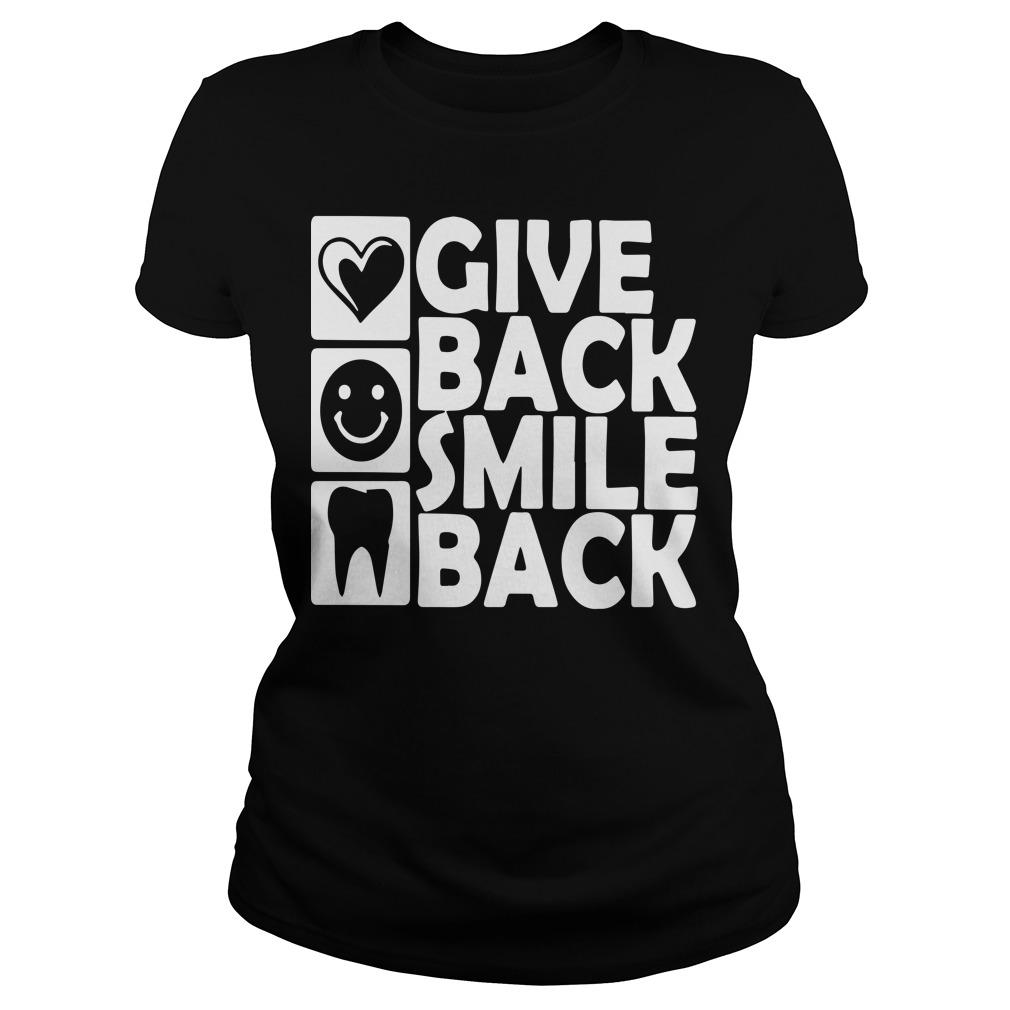 Dental Give Back Smile Back Longsleeve
