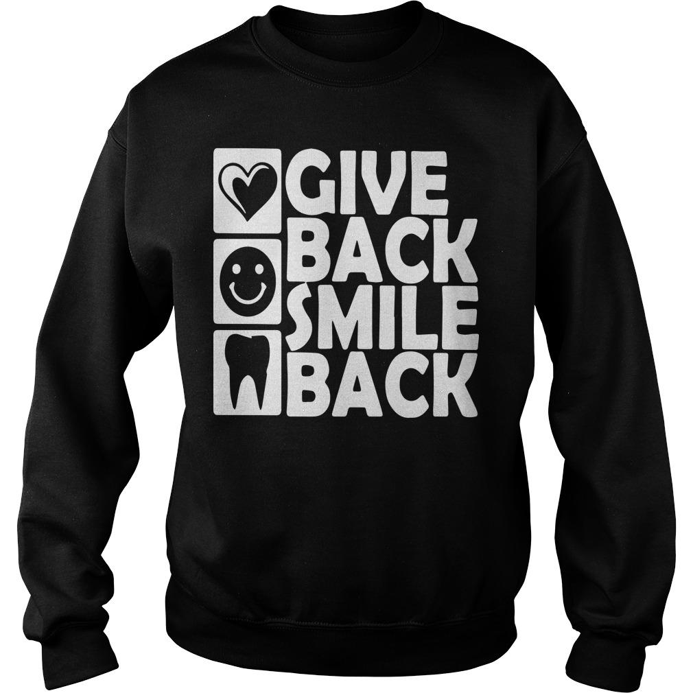 Dental Give Back Smile Back Sweater